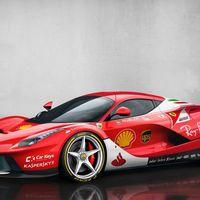 ¿Y si a los deportivos de producción les pusieran decorados de Fórmula 1?