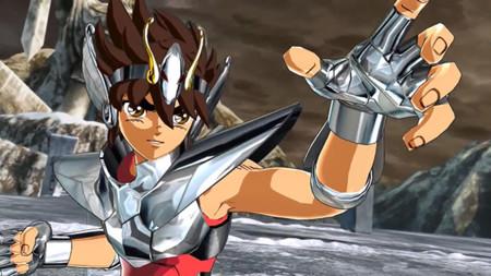 ¡Dame tu fuerza pegaso! Saint Seiya: Soldiers' Soul nos muestra el combate de Siegfried vs Pegaso