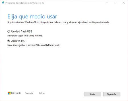Descargar Iso Windows 10