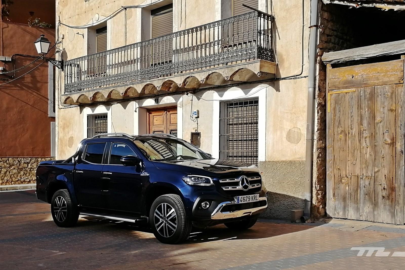 Foto de Mercedes-Benz Clase X 350d 2019 prueba contacto (73/78)