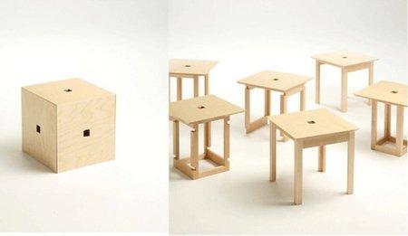 Cube 6, colección de mesas de Naho