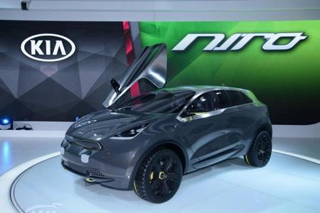 El Kia Niro Hybrid Concept debuta en el Salón de Chicago