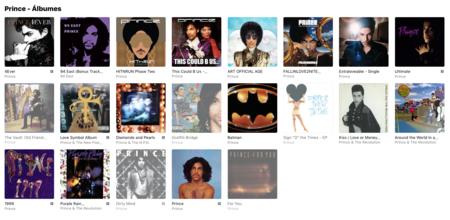 Prince Albumes