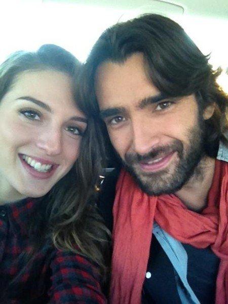 Aitor Luna y María Valverde