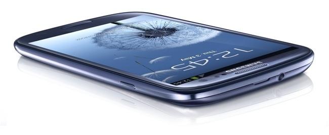 Samsung Galaxy S3 diseño de portada