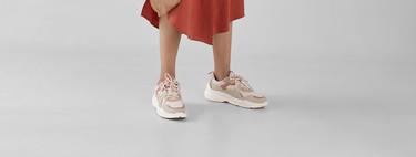 No hace falta que busques más: Bershka tiene las chunky sneakers perfectas