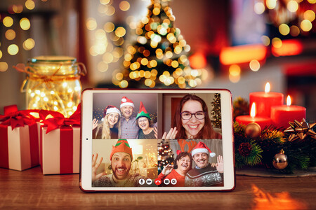 Navidad Videollamada Familia