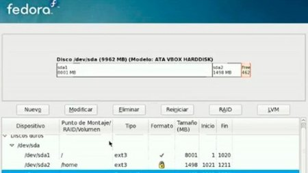Instalación de Fedora