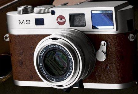 Edición limitada Leica M9 Ostrich para coleccionistas exclusivos