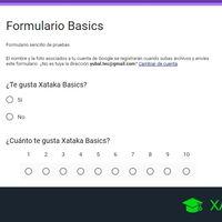 Cómo crear un formulario con Google Forms