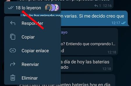 Telegram Confirmaciones Grupo