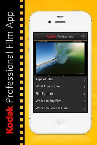 Kodak se resiste a dejar morir la película y lanza una aplicación para el iPhone