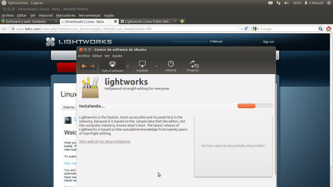 Instalando Lightworks para Linux Beta