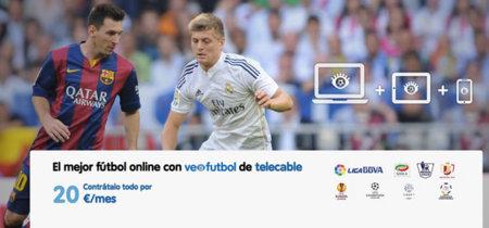 VeoFútbol, la alternativa de Telecable para que cualquiera pueda acceder a todo el fútbol