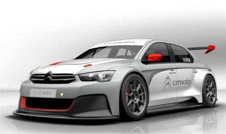Citroën desvela las primeras imágenes del C-Elysée para el Mundial de Turismos