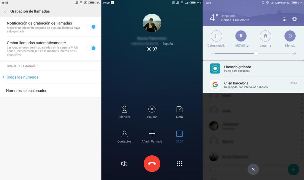 Call Recording Xiaomi