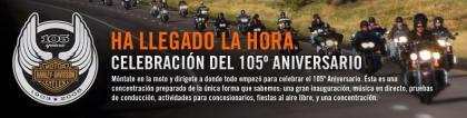 Harley-Davidson Events: gran concentración en Milwaukee por su 105º aniversario