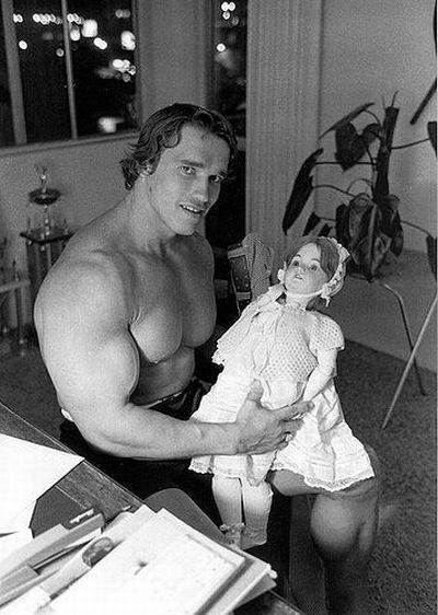 Arnold Schwarzeneger muñeca