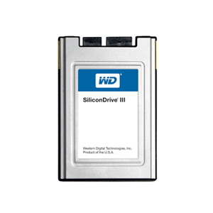 WD SiliconDrive III SSD 1.8 inches