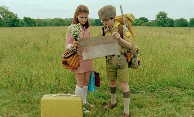 Suzy y Sam, los protagonistas de 'Moonrise Kingdom'