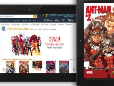 ¿Te gustan los cómics? Amazon y Marvel se unen para llevar 12.000 títulos a tu Kindle