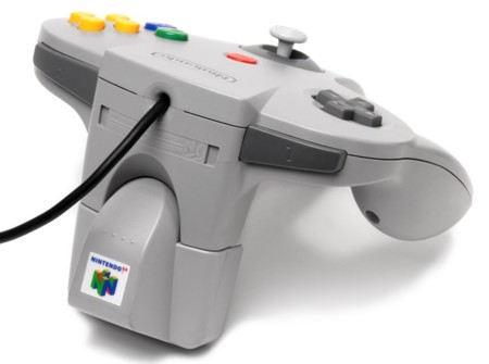 Mando Nintendo 64 con Rumble pack