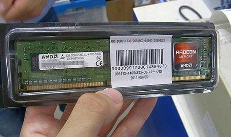 AMD empieza a fabricar memorias RAM