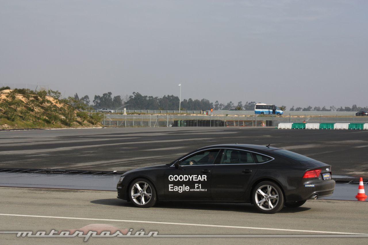 Foto de Goodyear Eagle F1: Audi TT RS, Audi A7 y Mercedes CLS (29/79)