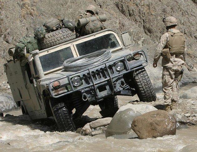 Humvee, HMMWV, High Mobility Multipurpose Wheeled Vehicle