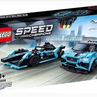 Jaguar entra a la colección de LEGO Speed Champions con sus dos eléctricos de competencia