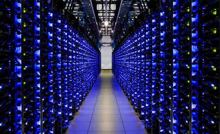 Google nos muestra el interior del Internet