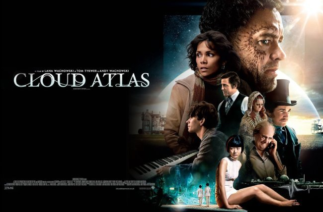 Una imagen promocional de El Atlas de las Nubes (Cloud Atlas)