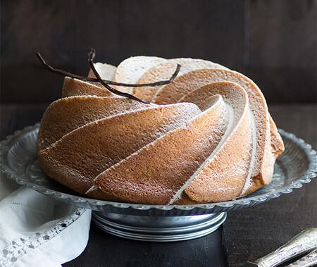 Bundt cake de Nata y Jengibre