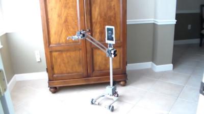 Convierte tu tablet Android en un robot de telepresencia con Origibot