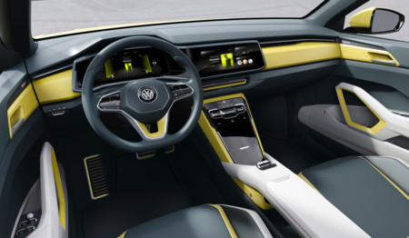 Volkswagen T Cross Breeze Concept interior