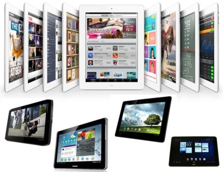 Cinco rivales para el iPad 3