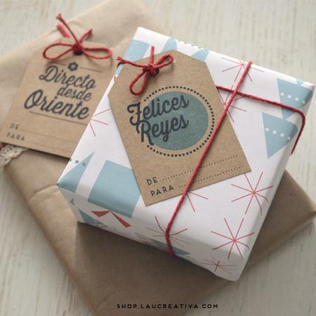 Etiquetas Tags Navidad Christmas Regalos Laucreativa 03