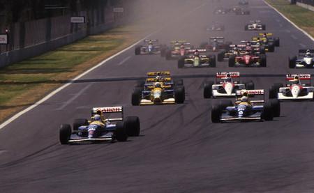 Salida GP México 1992