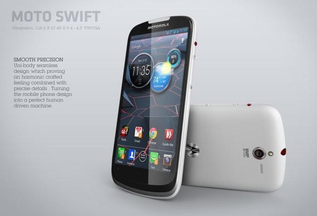 Así habría sido el Moto Swift de Google y Motorola que nunca se construyó