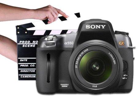 La grabación de vídeo en las réflex de Sony podría estar cerca