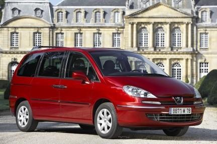 Peugeot 807, restyle 2008