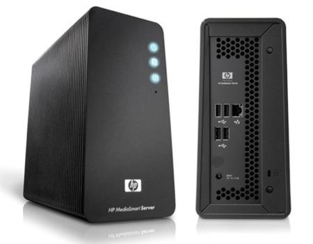 HP MediaSmart LX195, con Atom y Windows Home Server