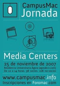 25 de Noviembre, nueva jornada CampusMac: Media Centers
