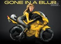 La fusión entre cuerpo y motocicleta