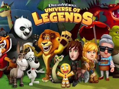 El mundo animado de Dreamworks llega al móvil con el juego Universe of Legends