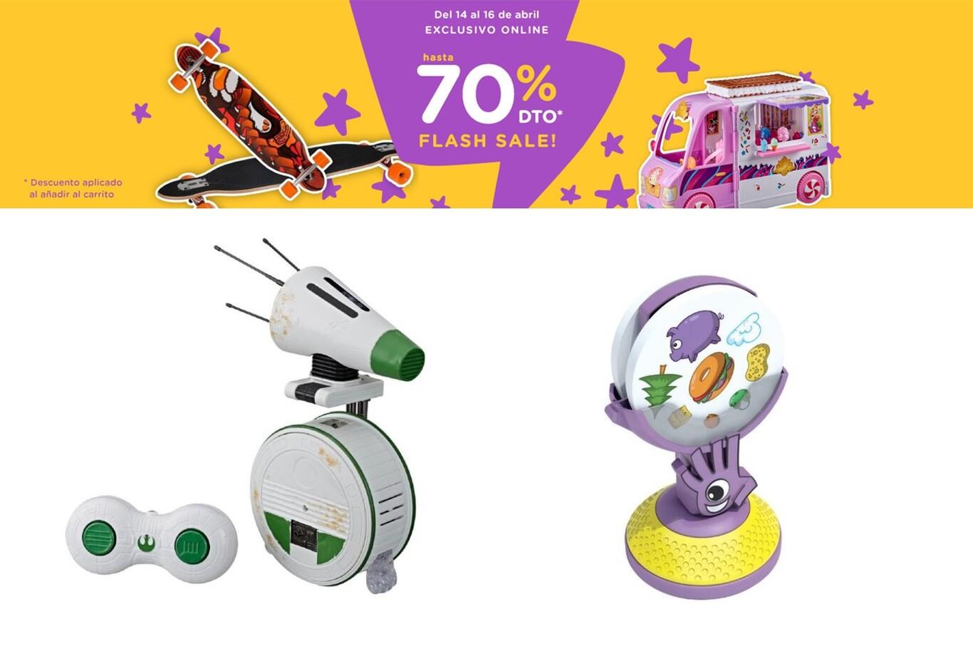 Flash Sale en Toys 'r us con descuentos de hasta el 70% en juegos de mesa, Lego, Star Wars o Mattel
