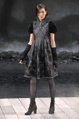 Chanel Otoño-Invierno 2011/2012 vestido