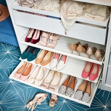 Los nueve organizadores de zapatos más útiles