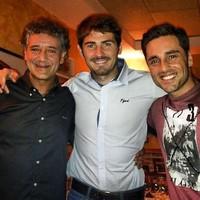 Iker Casillas y David Bustamante, unidos por una buena causa ¡Así, sí!