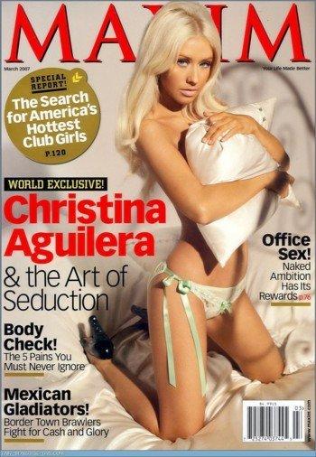 Christina Aguilera en Maxim